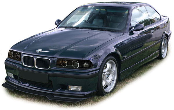 scheinwerfer e36 angel eyes schwarz bmw coupe cabrio. Black Bedroom Furniture Sets. Home Design Ideas