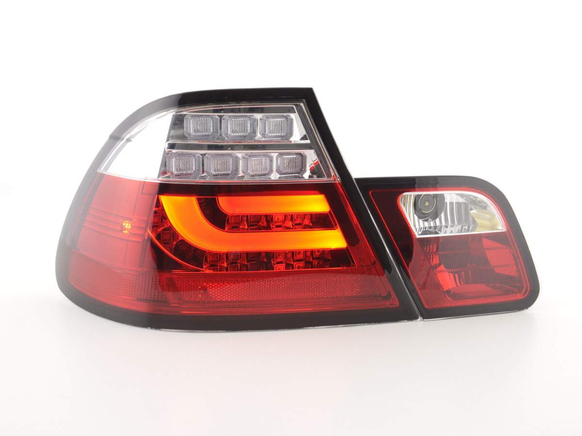 r ckleuchten e46 led lightbar rot bmw coupe. Black Bedroom Furniture Sets. Home Design Ideas