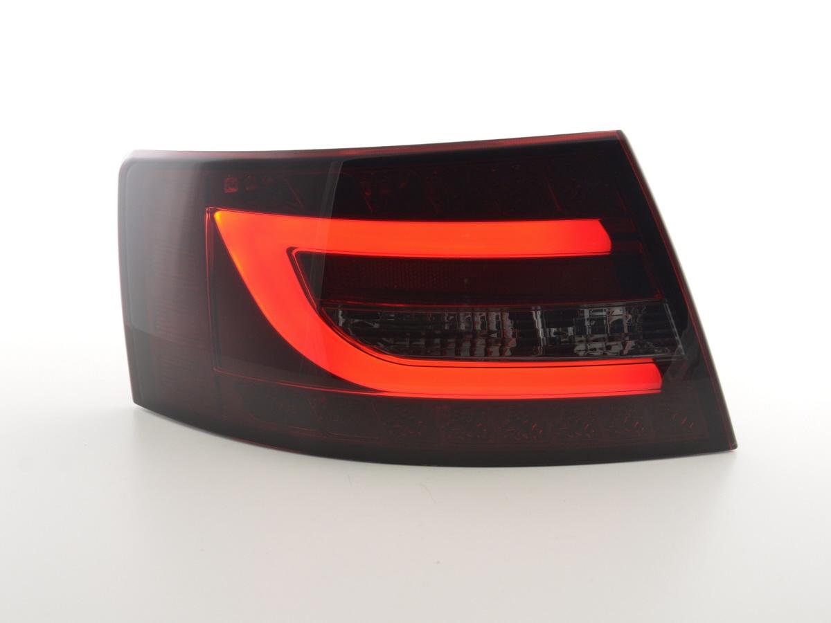 led r ckleuchten a6 4f c6 limo schwarz rot. Black Bedroom Furniture Sets. Home Design Ideas