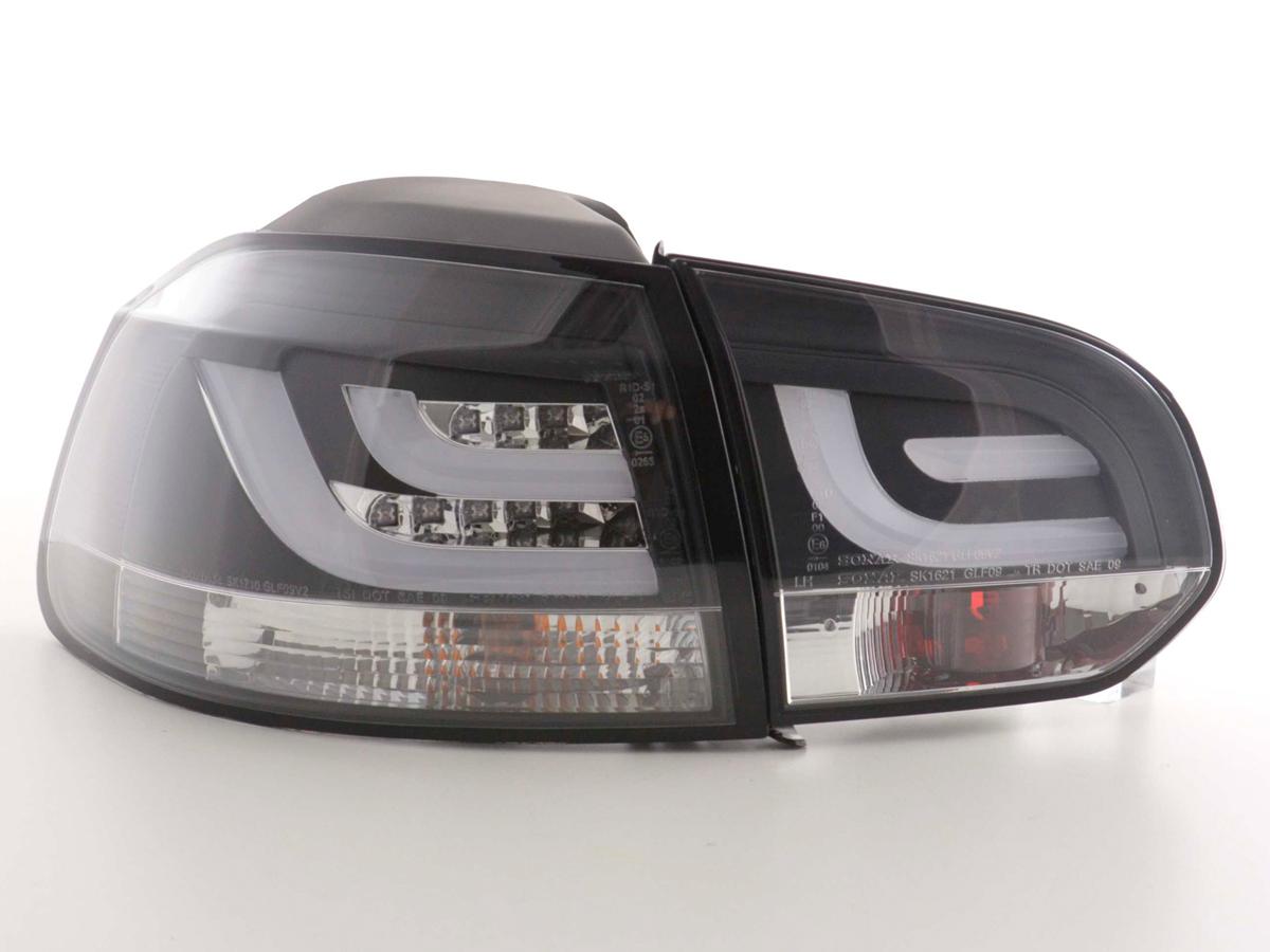 led lightbar r ckleuchten golf 6 vi schwarz. Black Bedroom Furniture Sets. Home Design Ideas