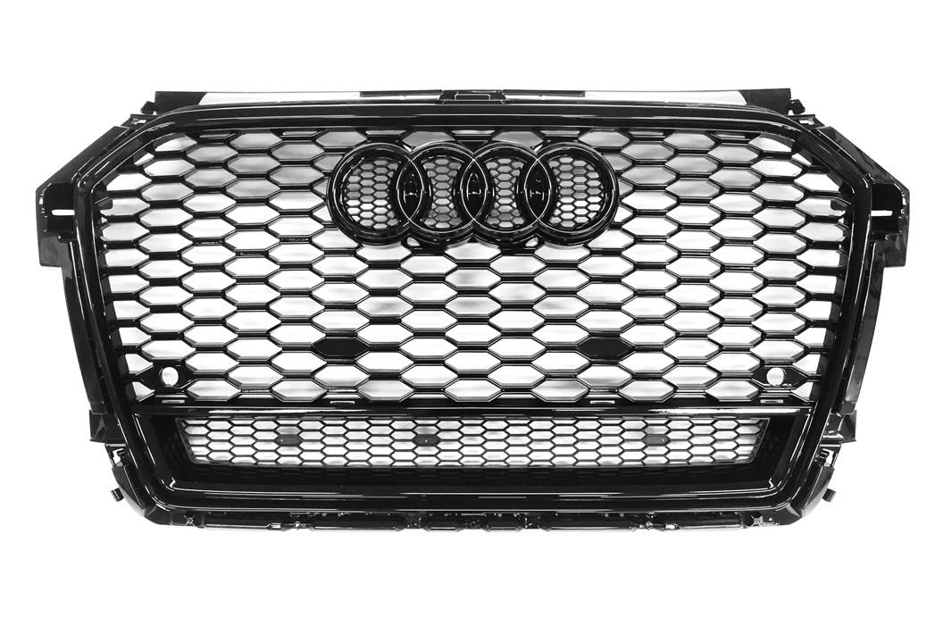 rs1 look grill schwarz audi a1 s1 8x s line facelift 2015. Black Bedroom Furniture Sets. Home Design Ideas