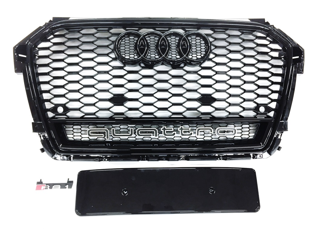 RS1 Look Grill Schwarz Audi A1 S1 8X S-Line Facelift 2015 ...