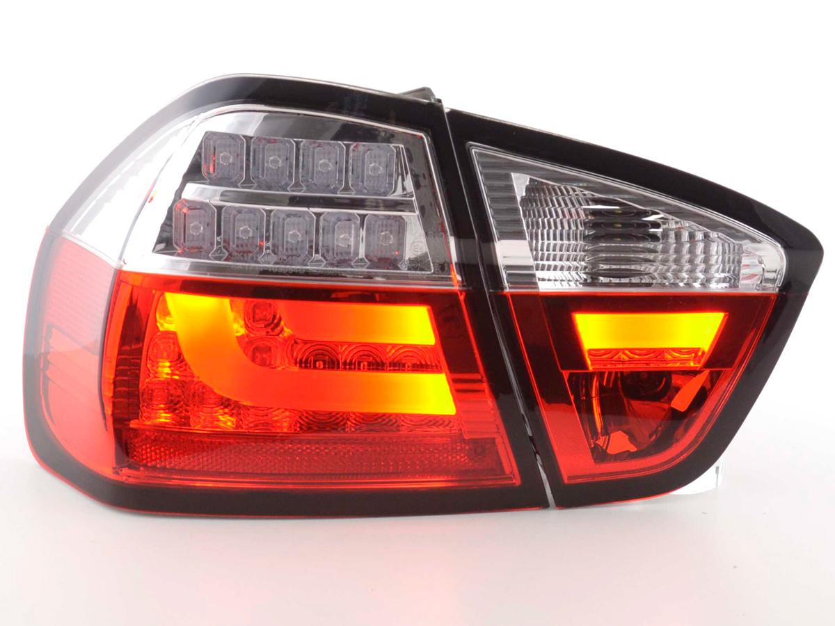 r ckleuchten e90 lightbar led rot bmw limousine. Black Bedroom Furniture Sets. Home Design Ideas